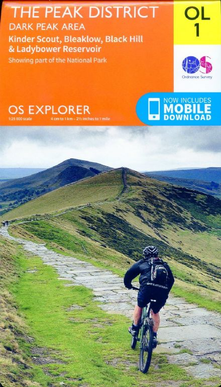 OS Explorer OL 01 The Peak District